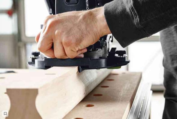 Система DOMINO объединяет точность круглого шипа с гибкостью обычного плоского шипа