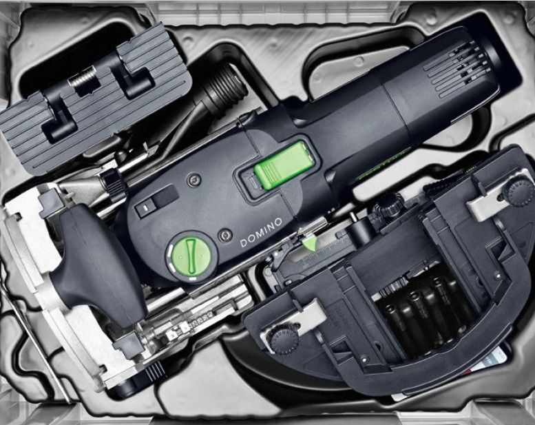 Упаковка фрезера Festool Domino DF 500  в систейнере