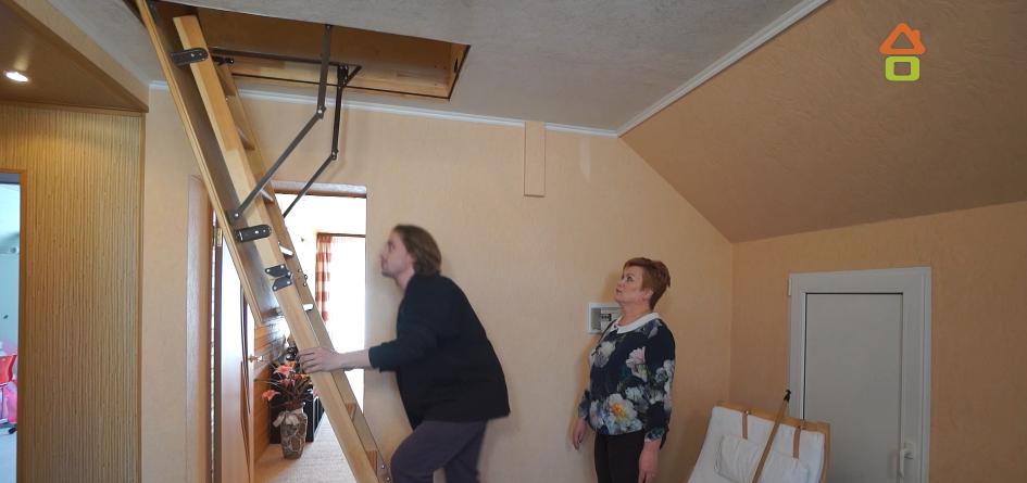 Переделка Мансарды дачного домика июль 2019