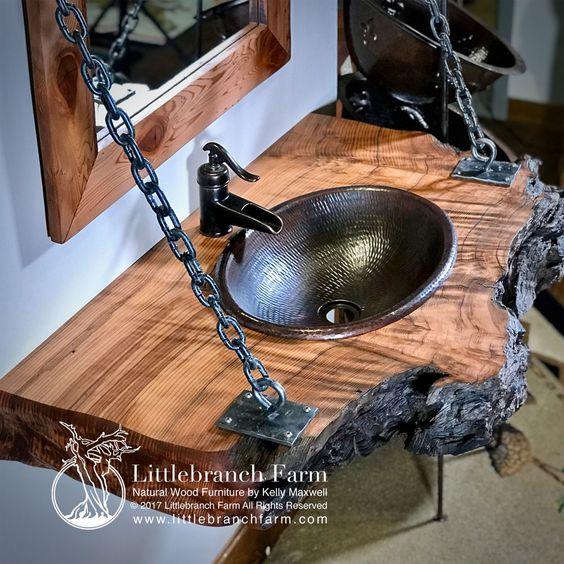 ванная комната слэбы с эпоксидной смолой 2019
