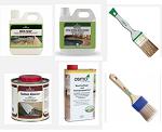 Покраска, уход и защита деревянных поверхностей Osmo и Borma