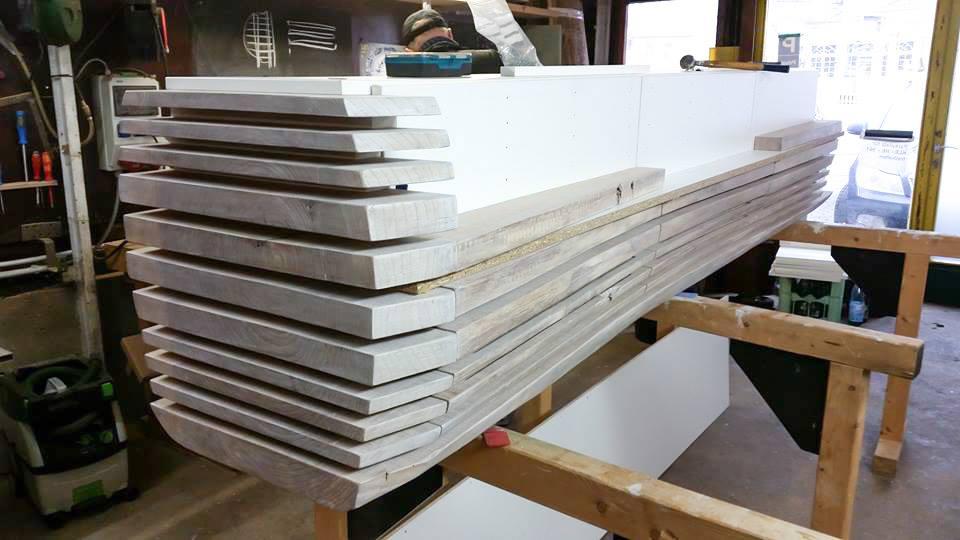 Проект деревянный СЕРВАНТ сделан инструментами фестул festool