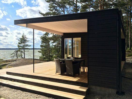 каркасные бани финские лучшие примеры