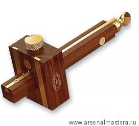 Рейсмус Marples Combination Mortise&Marking Rosewood Gauge комбинированный, латунный винт, 3 иглы М00006229