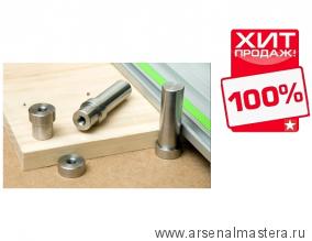 2 упора Veritas Stainless-Steel Small Dogs D19.9 мм высота 70 мм для монтажного стола Festool MFT 05G49.55 М00008933 ХИТ!