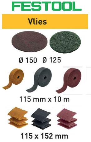 Шлифовальный материал FESTOOL Vlies