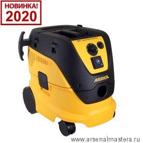 Профессиональный пылесос объем 30 л Mirka DE 1230 L AFC 230 В с функцией автоматической очистки фильтра 8999200111 Обновленная версия 2020 года