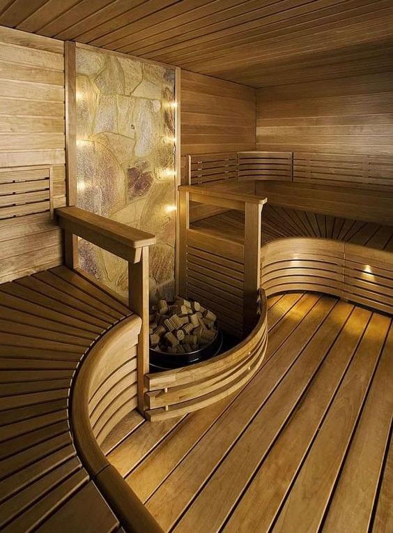 Еще идеи для бани и сауны в доме