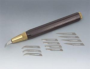 Нож резчицкий Veritas c 12-ю сменными лезвиями Ver 05K7301