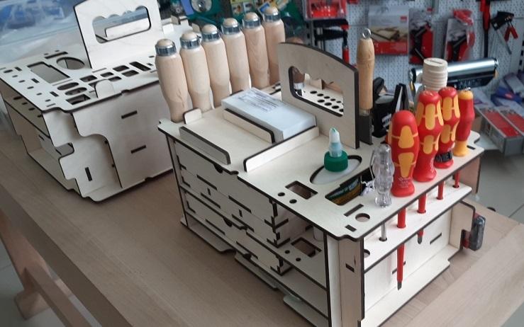 вкладыш органайзер для хранения ручного инструмента