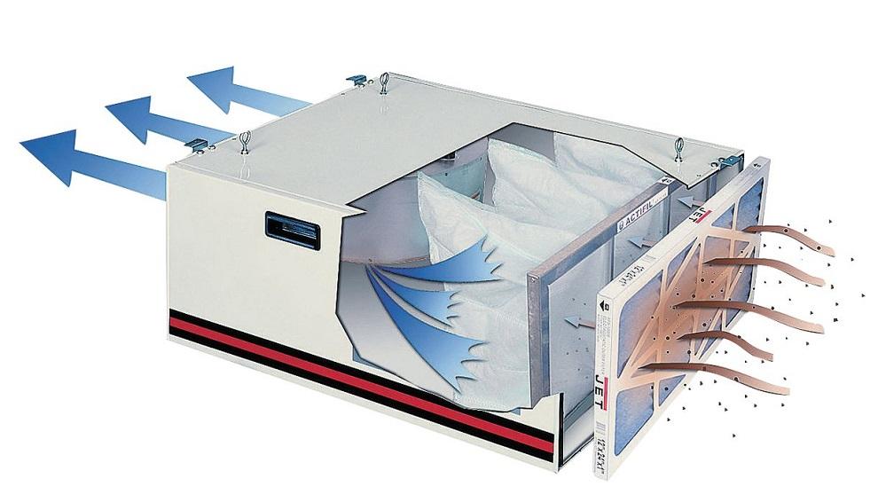 Система фильтрации воздуха Jet AFS-1000 B 708620M