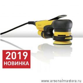 Электрическая роторно-орбитальная шлифмашинка Mirka DEROS 350CV с подошвой 77мм орбита 5,0 мм MID3502011 Новинка 2019 года!