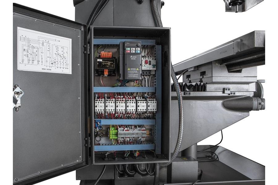 JET JMD-939GHV DRO Широкоуниверсальный фрезерный станок