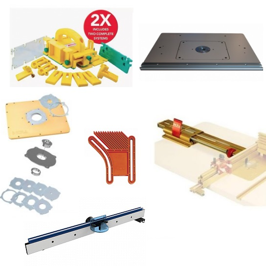 в ассортименте оснастка для фрезерных станков и столы для точной работы в Мастерских для фрезерования и профилирования различных заготовок из дерева