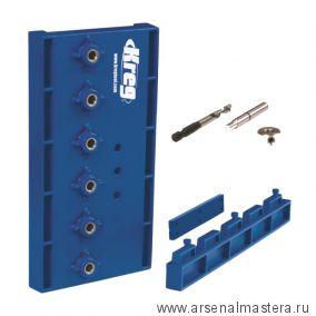 Кондуктор для сверления отверстий d=5 мм для полкодержателей Kreg KMA3220-INT