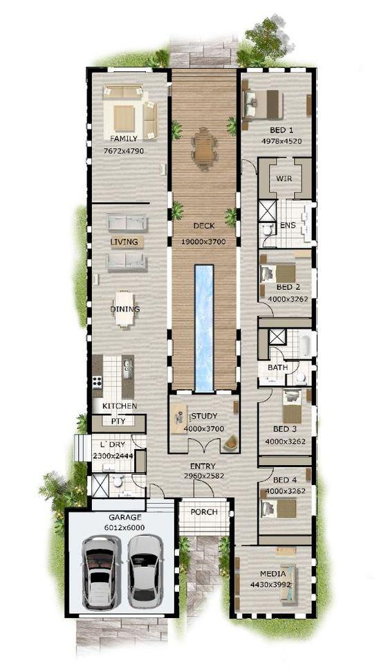 план схема загородного участка и дома