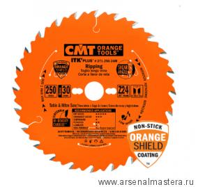 CMT 271.190.24M Диск пильный ультратонкий 190x30(20/16)x1,7/1,1 20гр 10гр ATB /8гр SHEAR Z24