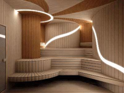 Подсветка в бане