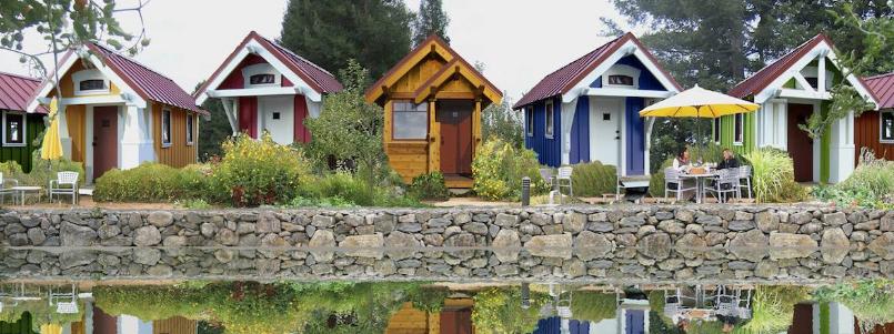 Крошечные дома тини-хаус