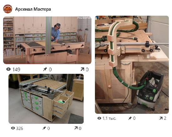 НОВОЕ 15 лучших фото из Обзора Многофункциональный стол для мастерской