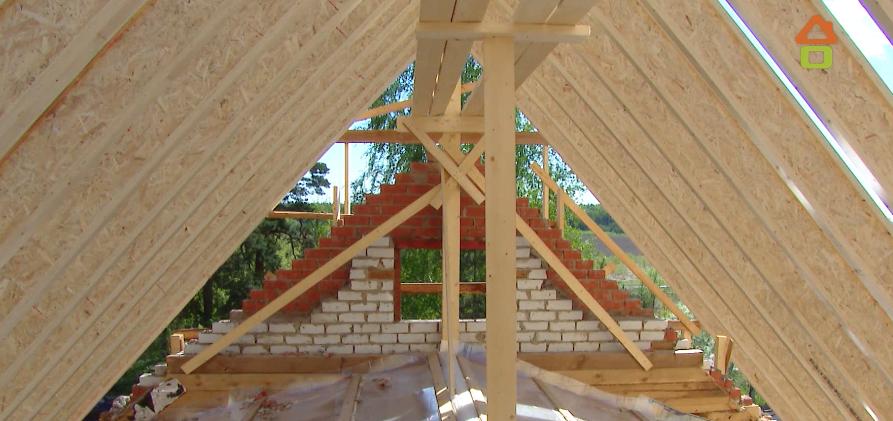 Постройка новой крыши загородного дома 2019