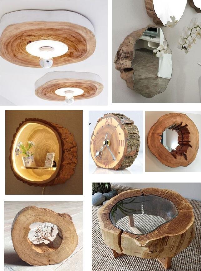деревянные спилы в руках Мастеров превращаются в предметы мебели как арт-объекты и даже произведения искусства