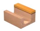 Фреза радиусная с плоским дном с подшипником DIMAR 1062639