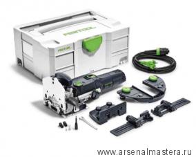 Фрезер дюбельный Festool DOMINO DF 500 комплект с упорами в контейнере T-Loc DF 500 Q-Set 574427