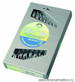Набор двусторонних рожковых ключей 8 шт 6х7, 8х9, 10х11, 12х13, 14х15, 16х17, 18х19, 20х22 мм, в картонной коробке HEYCO