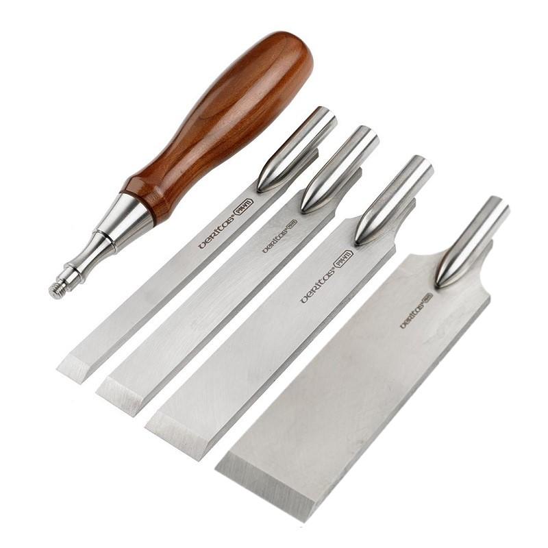 Стамеска составная Veritas Flushing Chisel Handle & Blade Sets М00016924