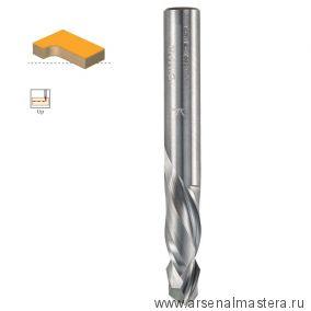 Фреза спиральная цельнотвердосплавная двунаправленный рез Z 2  8 x 7 - 25 x 70 x 8 DIMAR 1743275