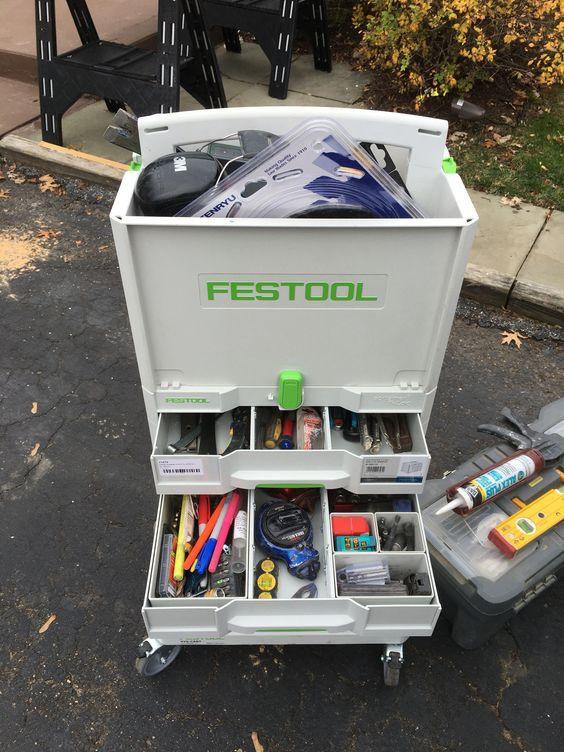 инструментальный ящик фестул купить для работы у клиента