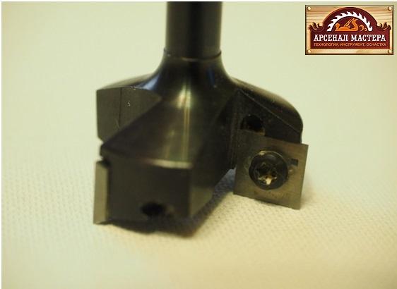 CMT 663.007.11 Фреза фуговальная сменные ножи, для СЛЭБОВ HM Z3 D35  I10,5  S8