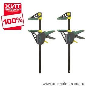 Комплект: Струбцина для зажима и распора EHZ PRO 100-915 2 шт  Wolfcraft 3034000-2-AM ХИТ!