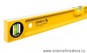 Уровень строительный литой STABILA тип 82S 80см 1 вертикальный, 1 горизонтальный арт.02596