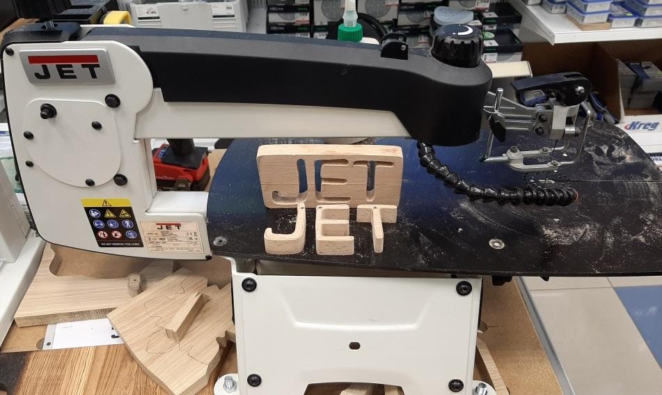 фото Лобзиковый станок Jet JWSS-18B 727300BM