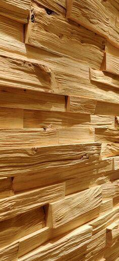 Объемную текстуру можно также задать обычными колотыми поленьями или дощечками разной толщины: