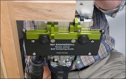 приспособление для фрезера Домино для узких заготовок
