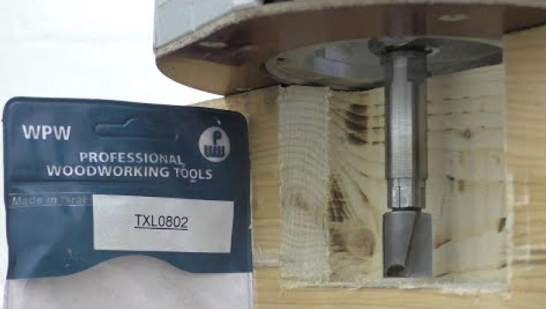 Позволяет фрезеровать глубокие пазы, например, для дверных замков или шиповых соединений