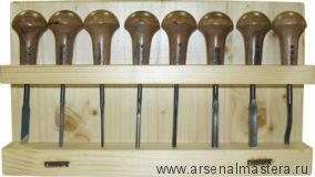 АКЦИЯ! Набор профессиональных резцов Narex NB PROFI с грибовидной ручкой 8 шт 8687 00