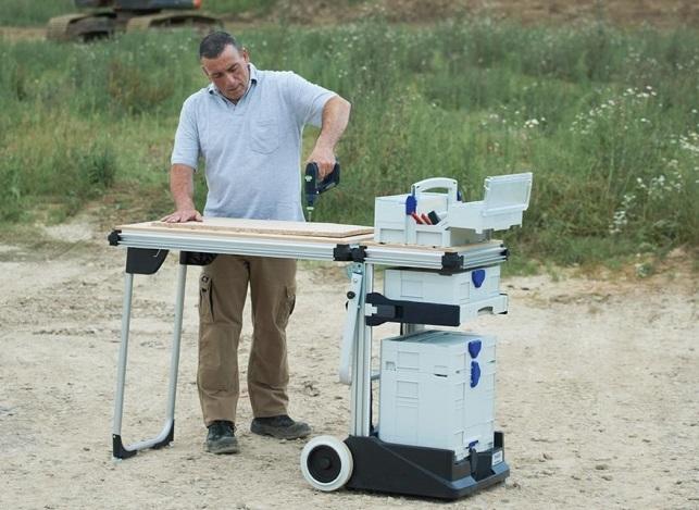 Фото : Мобильный верстак FESTOOL MW 1000 в комплекте со столом TSB/1-MW 1000