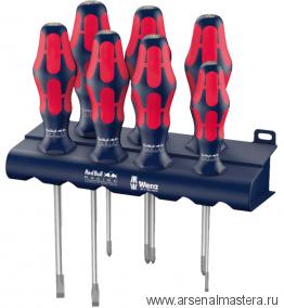 МИНУС 30% Набор отверток WERA Kraftform Plus Red Bull Racing Lasertip 6 шт 227700