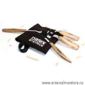 АКЦИЯ! Набор резцов 4 шт для ложек в сумке NAREX 899501
