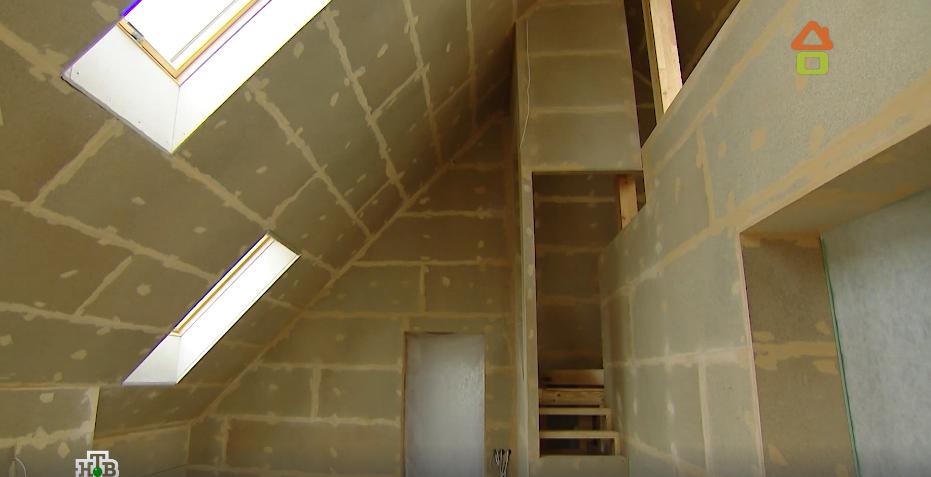 ремонт внутренних помещений второго этажа