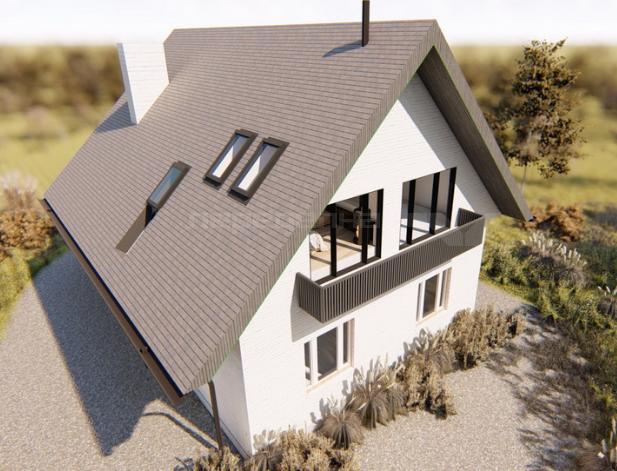Проект реконструкции загородного дома июль 2019