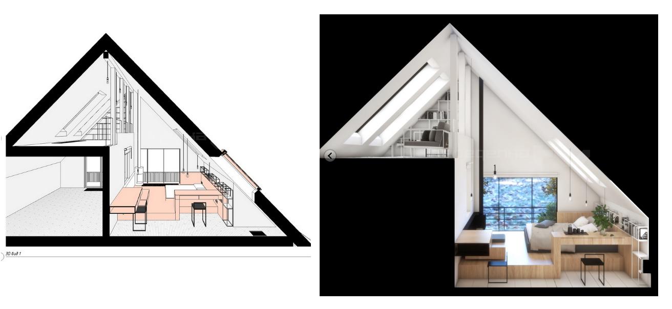 План эскиз загородного дома 2019