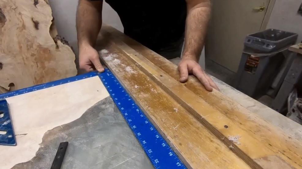 Разметка и обрезка в размер