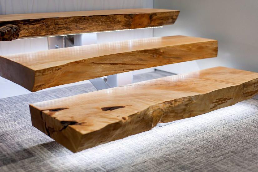 лестницы из дерева сделаны вручную