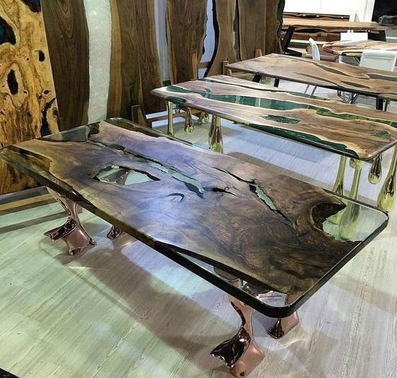 Слэб дерева пример фото с металлом, натуральным камнем, стеклом