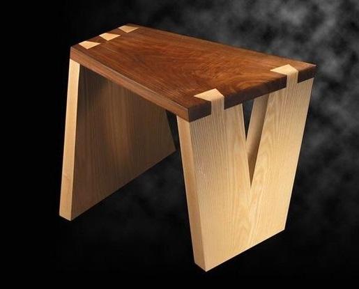 Соединение Ласточкин хвост сложное для стула